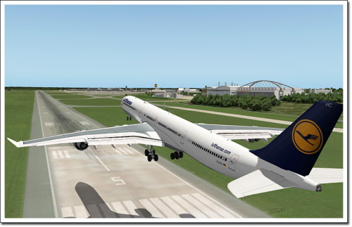 Airport Hamburg for X-Plane 10