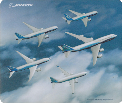 Boeing Family Mouse Mat