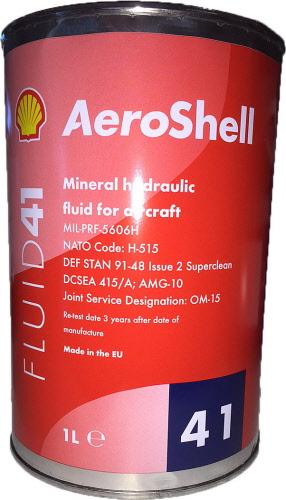 Aeroshell Fluid 41 1 Qt 13610